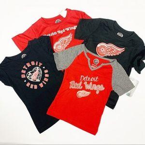 Detroit Red Wings Toddler Girls T-Shirts